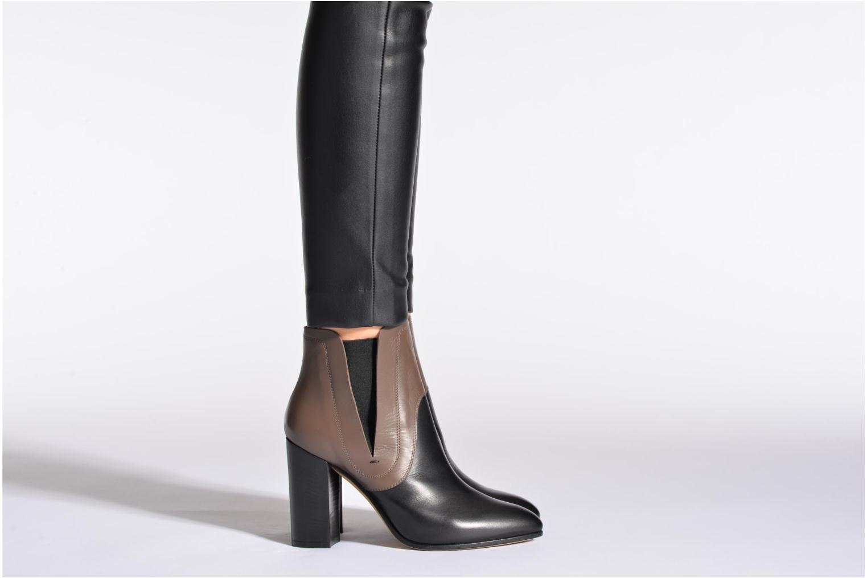 Bottines et boots Rebecca Balducci 5017 Marron vue bas / vue portée sac