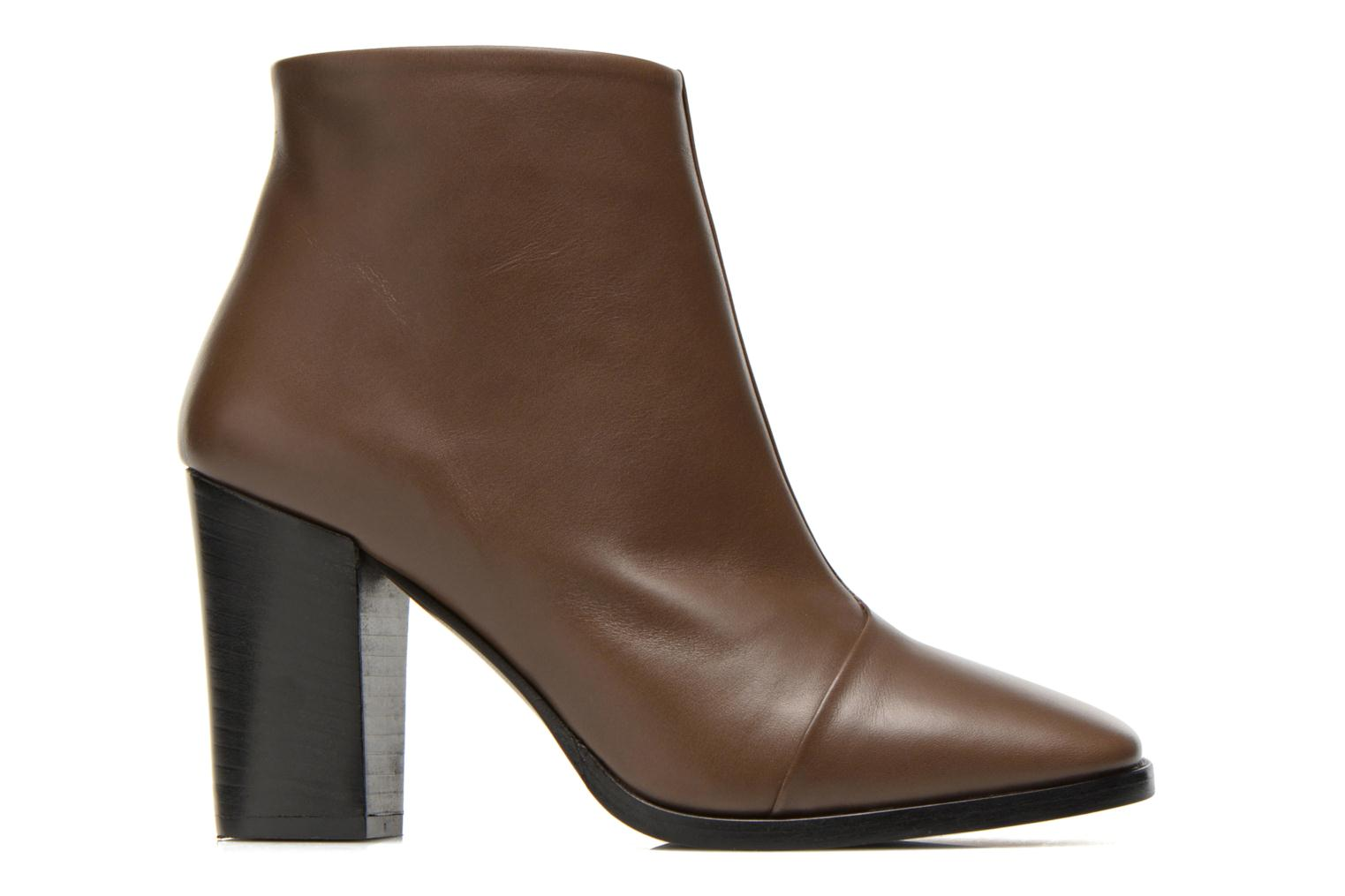 Ankle boots Rebecca Balducci 5023 Brown back view