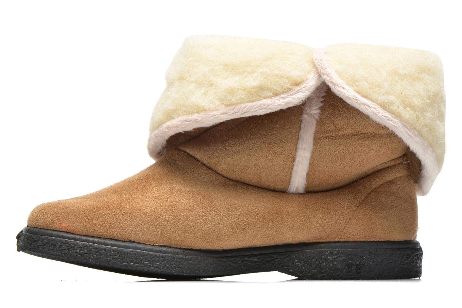 Slippers Rondinaud Dieppe Brown front view