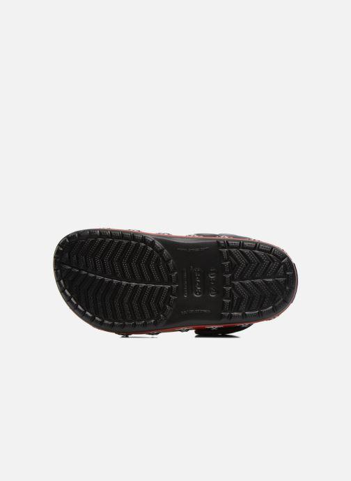 Sandali e scarpe aperte Crocs CB Darth Vader Lined Clog Nero immagine dall'alto