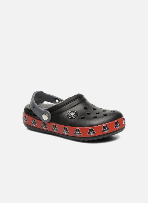 Sandals Crocs CB Darth Vader Lined Clog Black detailed view/ Pair view