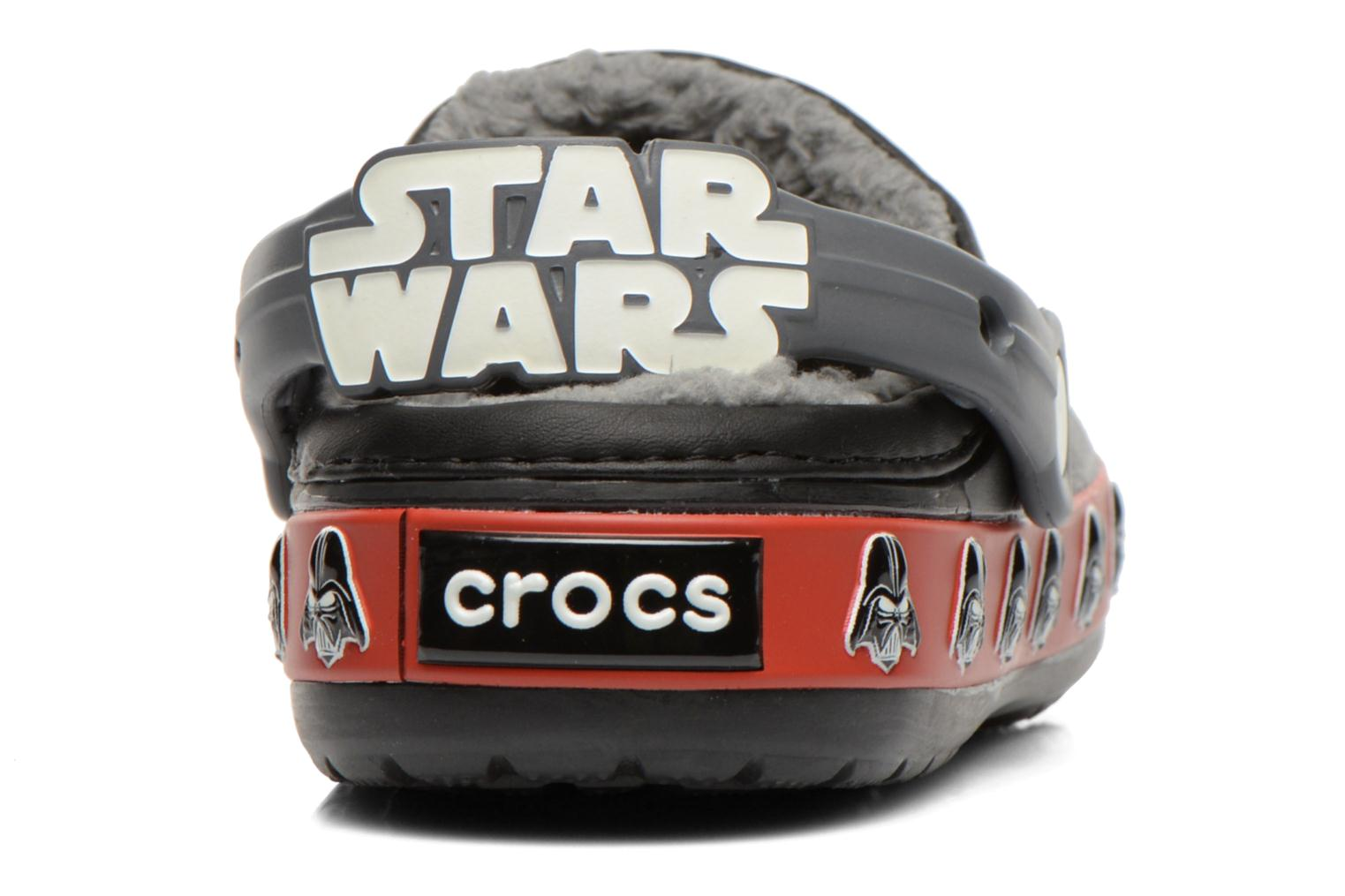 Sandals Crocs CB Darth Vader Lined Clog Black view from the right