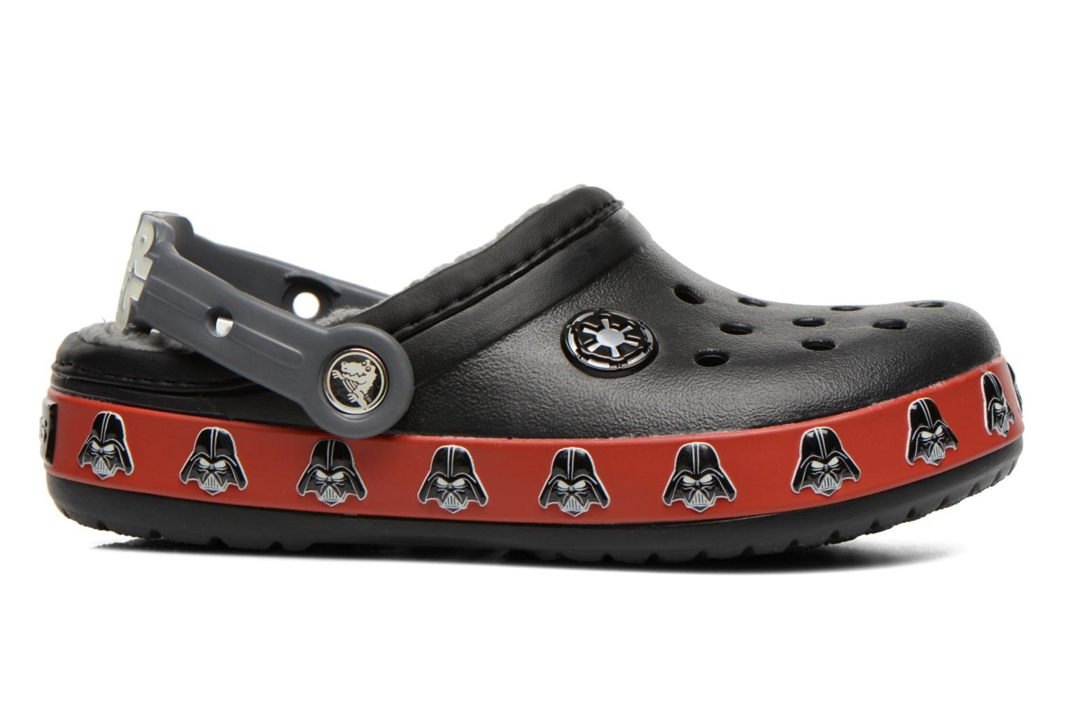 Sandals Crocs CB Darth Vader Lined Clog Black back view