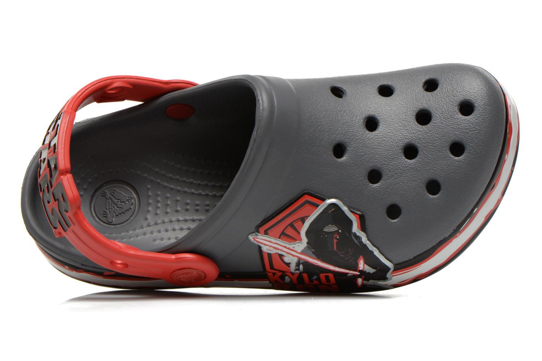 Sandales et nu-pieds Crocs CB Star Wars Villain Clog K AH15 Gris vue gauche