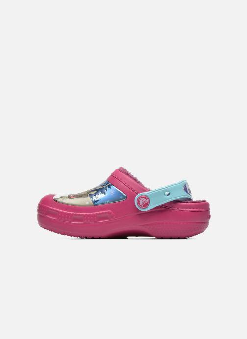 Sandals Crocs CC Frozen Lined Clog Purple front view