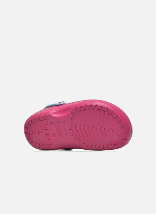 Sandalen Crocs CC Frozen Lined Clog Paars boven