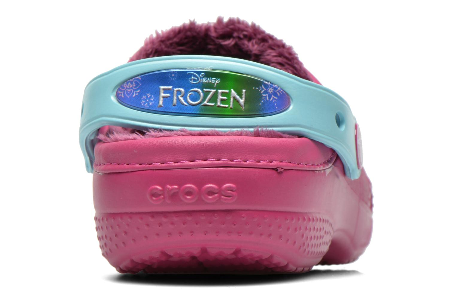 Sandals Crocs CC Frozen Lined Clog Purple view from the right