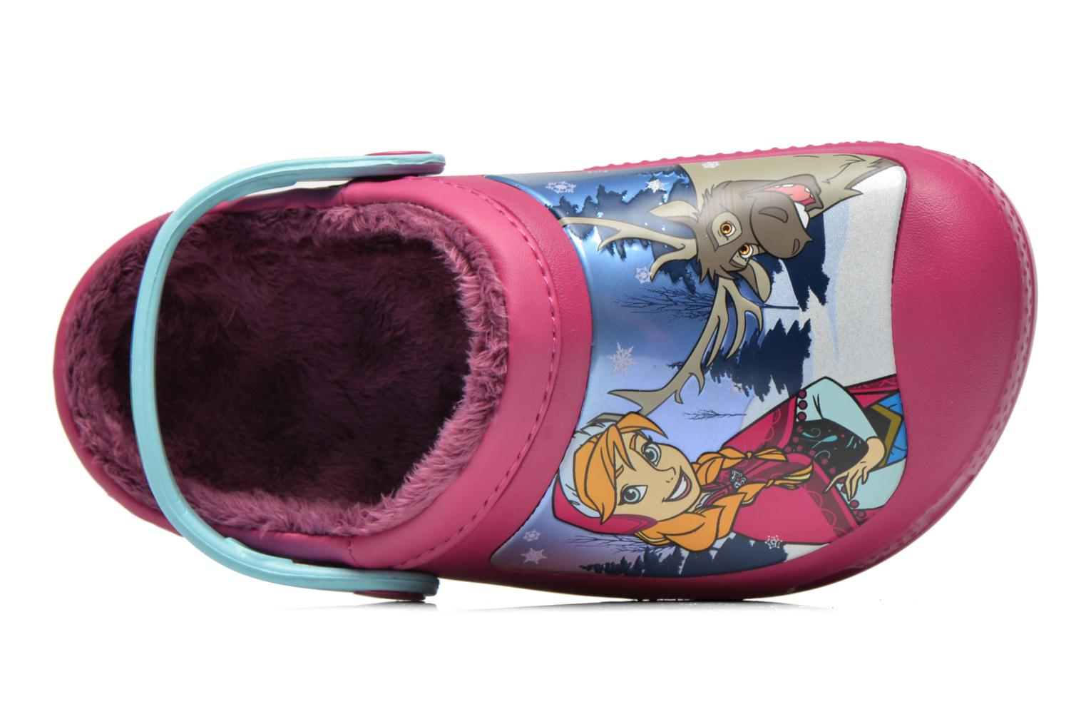 Sandals Crocs CC Frozen Lined Clog Purple view from the left
