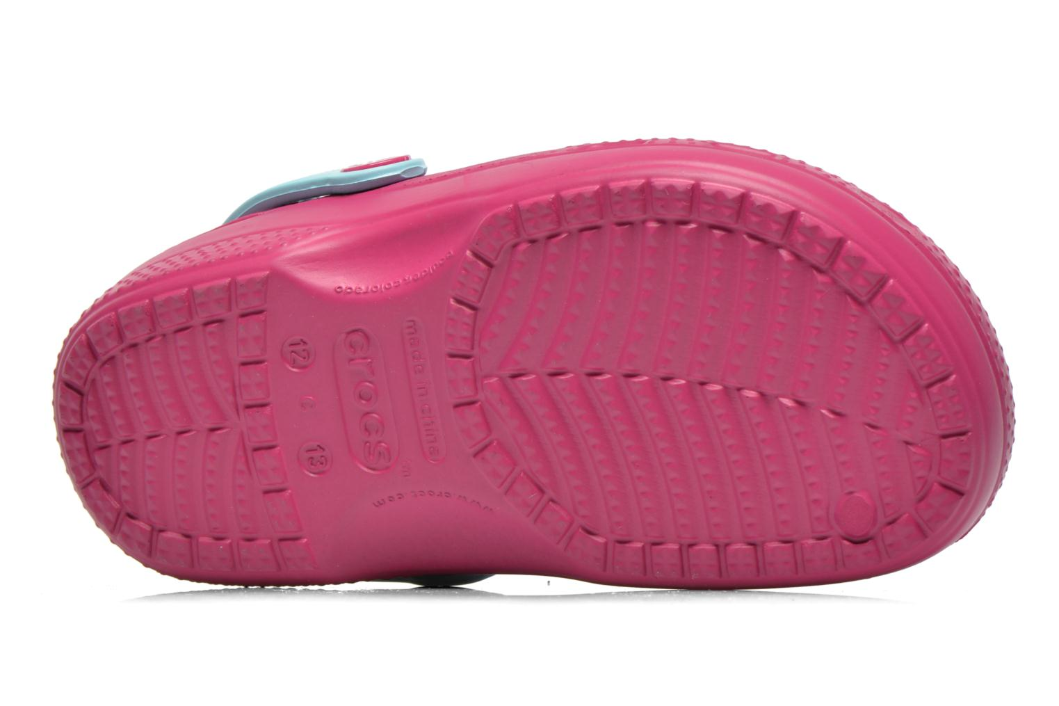 Sandals Crocs CC Frozen Lined Clog Purple view from above