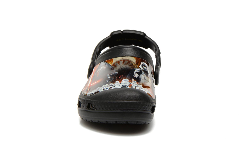 Sandales et nu-pieds Crocs CC The Force Awakens Clog K Noir vue portées chaussures