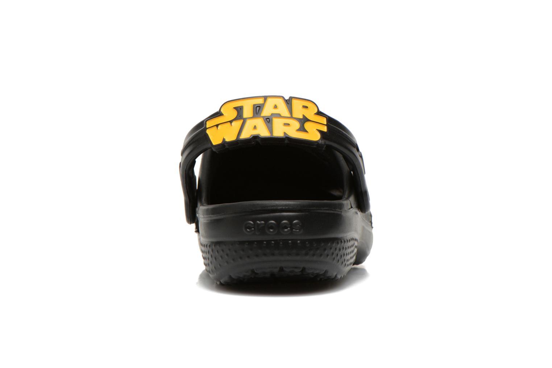 Sandales et nu-pieds Crocs CC The Force Awakens Clog K Noir vue droite