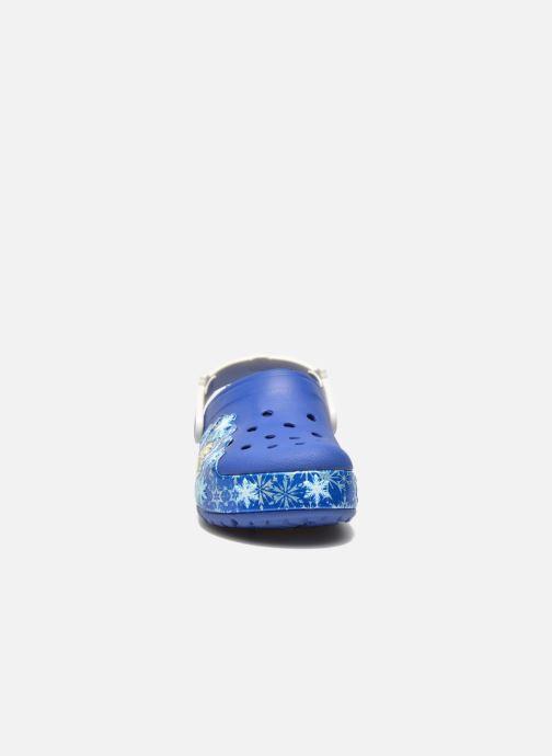 Sandales et nu-pieds Crocs CrocsLights Frozen Clog K Bleu vue portées chaussures