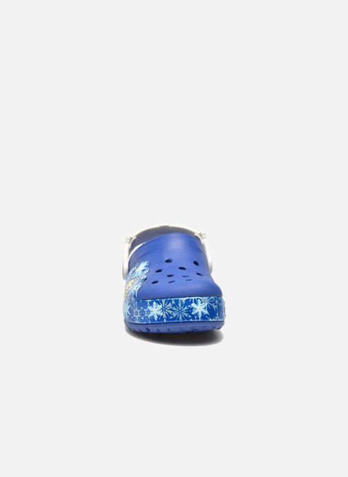 Sandals Crocs CrocsLights Frozen Clog K Blue model view