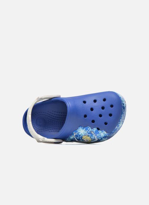 Sandals Crocs CrocsLights Frozen Clog K Blue view from the left