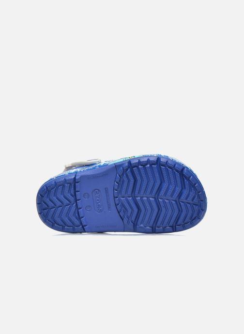 Sandals Crocs CrocsLights Frozen Clog K Blue view from above
