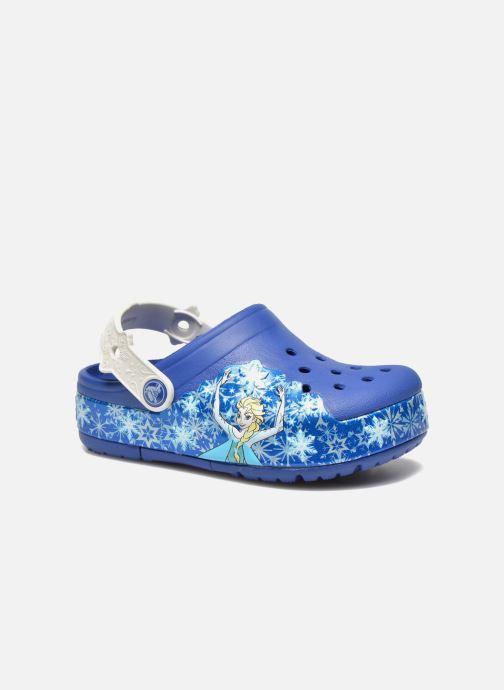 Sandals Crocs CrocsLights Frozen Clog K Blue detailed view/ Pair view