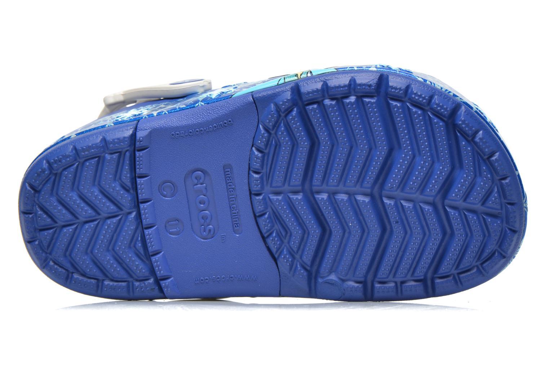 Sandales et nu-pieds Crocs CrocsLights Frozen Clog K Bleu vue haut
