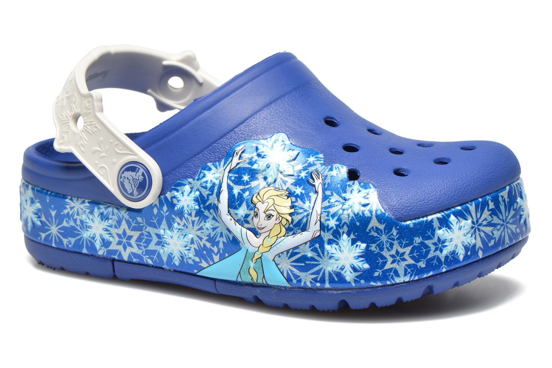 Sandales et nu-pieds Crocs CrocsLights Frozen Clog K Bleu vue détail/paire