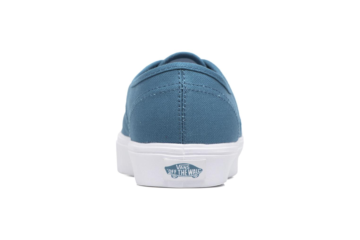 Sneakers Vans Authentic Lite Blauw rechts