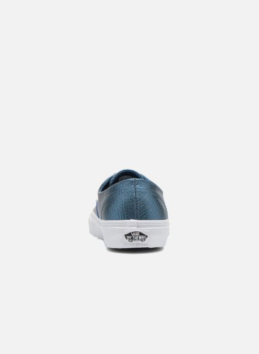 Deportivas Vans Authentic Decon W Azul vista lateral derecha