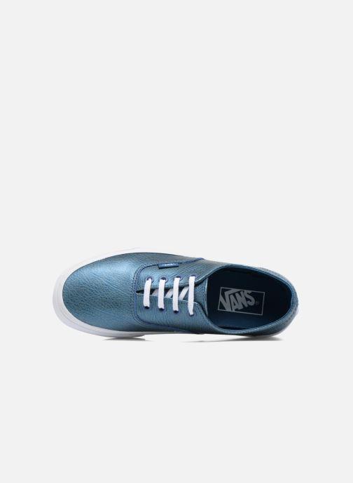 Baskets Vans Authentic Decon W Bleu vue gauche