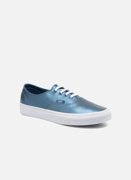 Deportivas Vans Authentic Decon W Azul vista de detalle / par