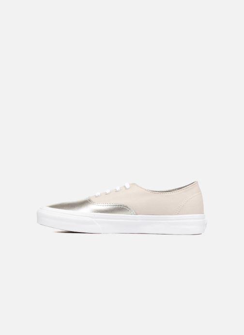 Sneakers Vans Authentic Decon W Zilver voorkant