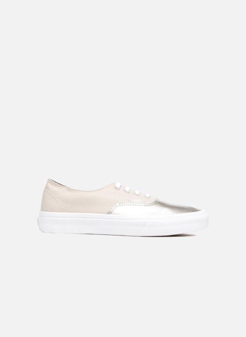 Sneakers Vans Authentic Decon W Zilver achterkant