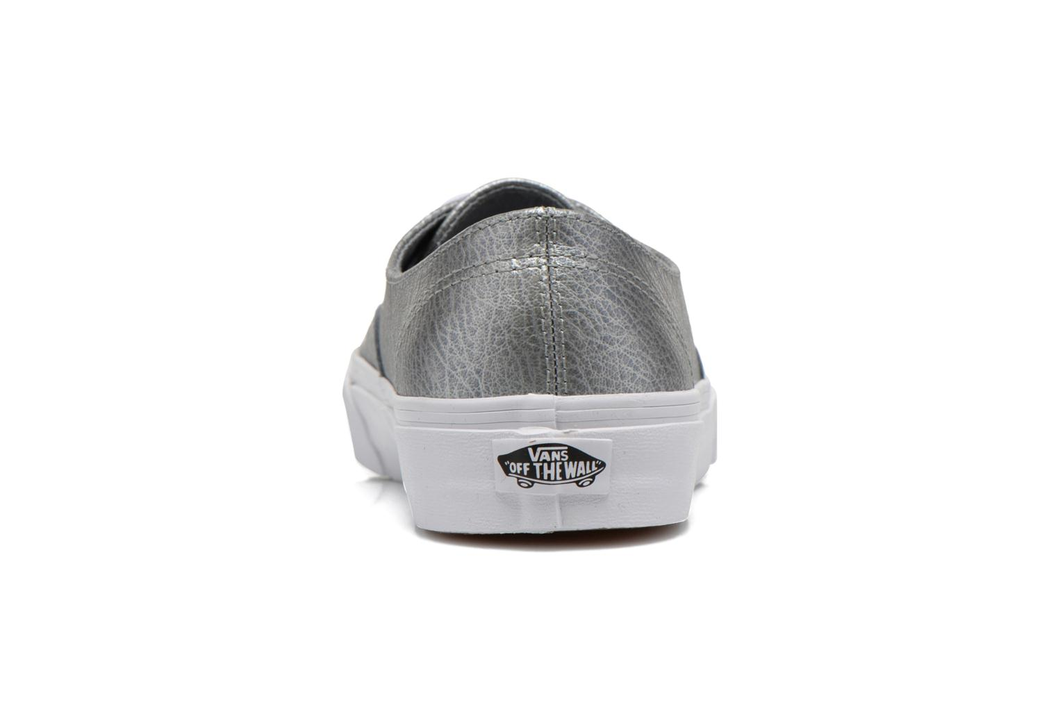 Trainers Vans Authentic Decon W Silver view from the right
