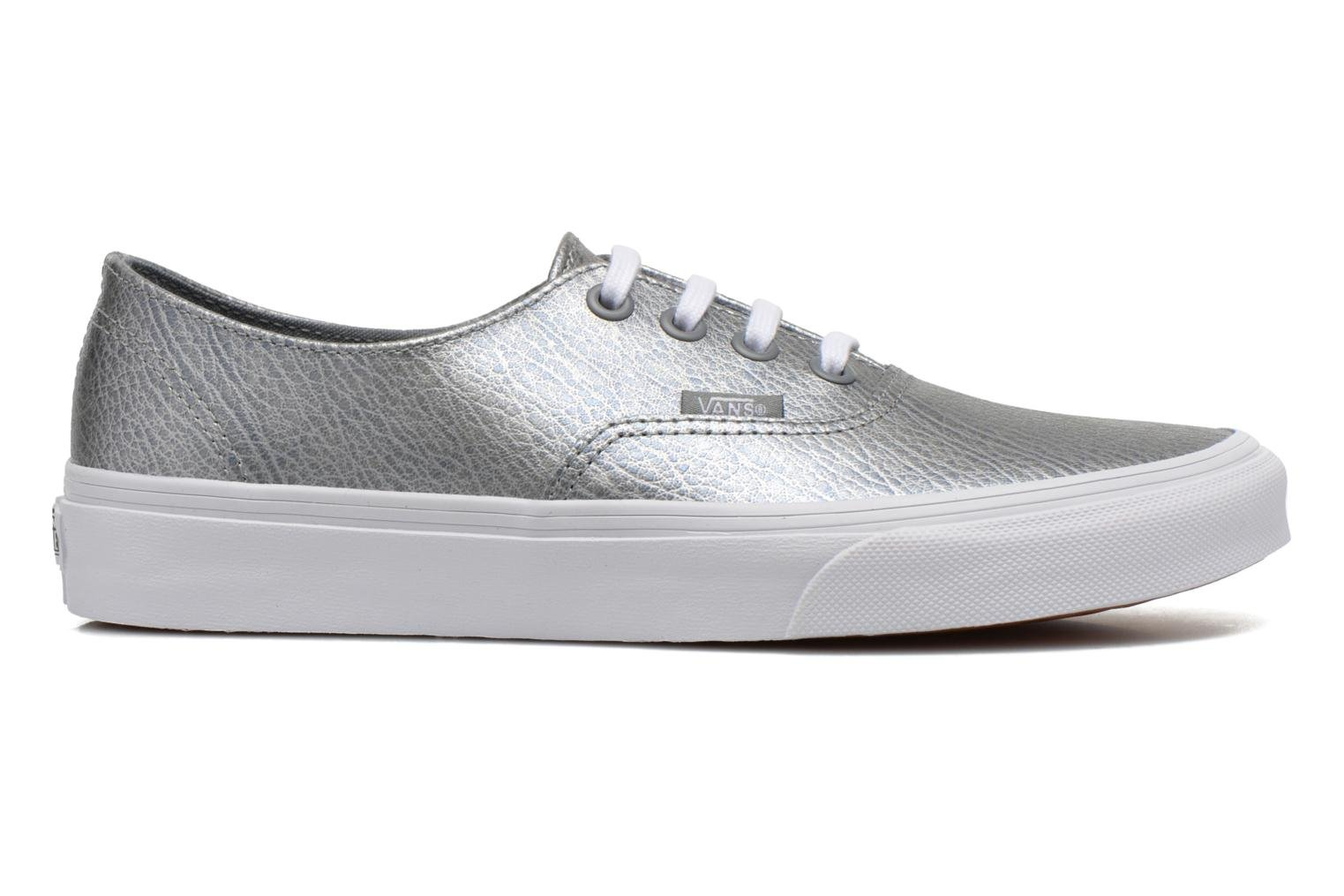 Sneakers Vans Authentic Decon W Zilver achterkant