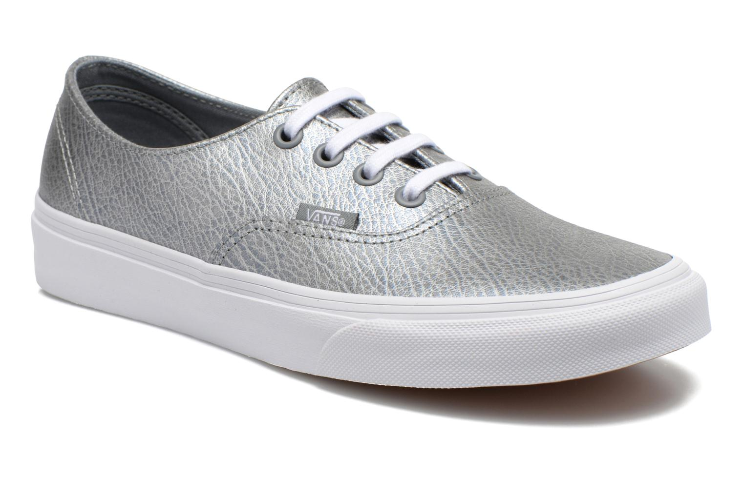 Sneakers Vans Authentic Decon W Zilver detail