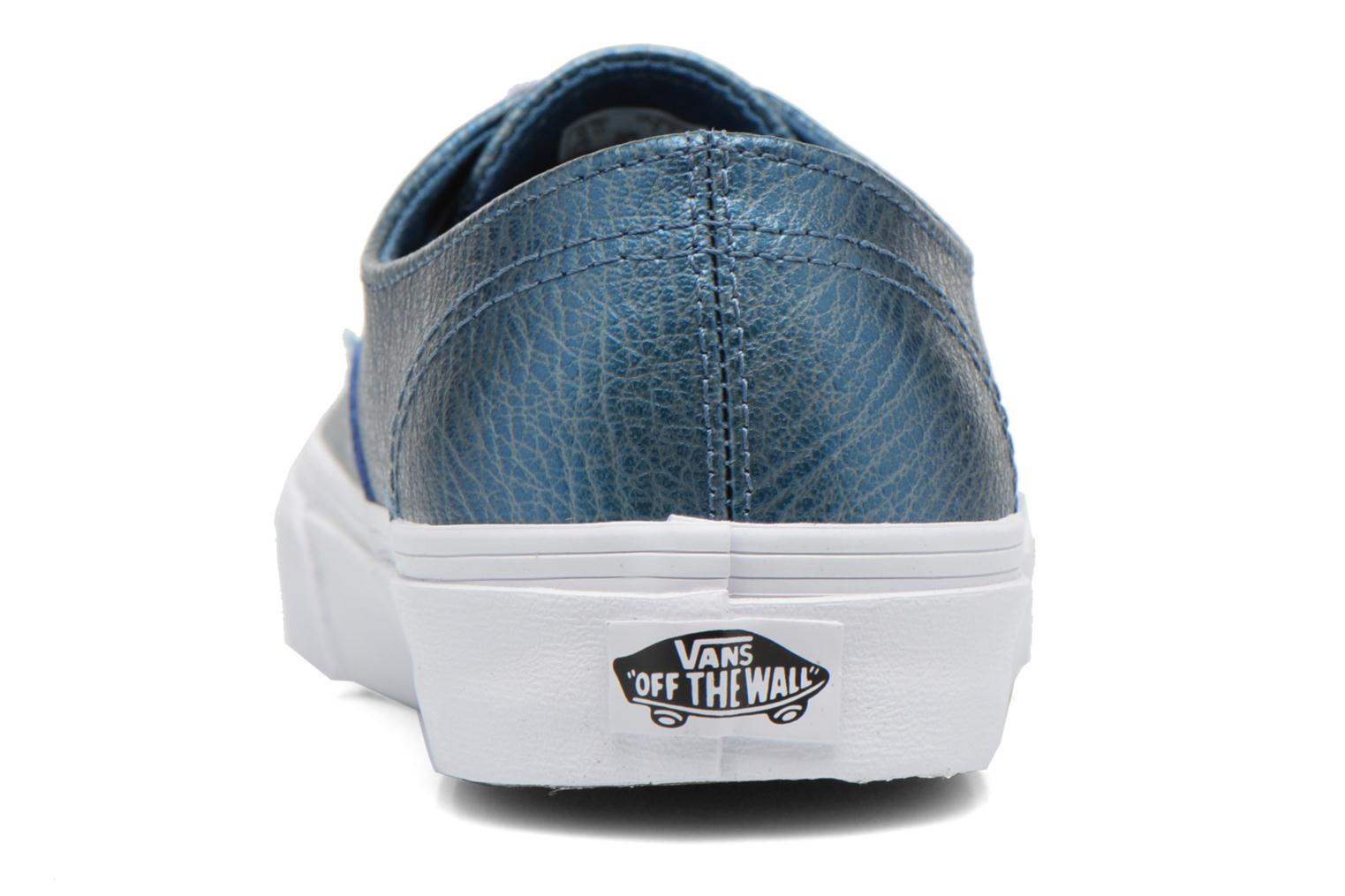 Baskets Vans Authentic Decon W Bleu vue droite