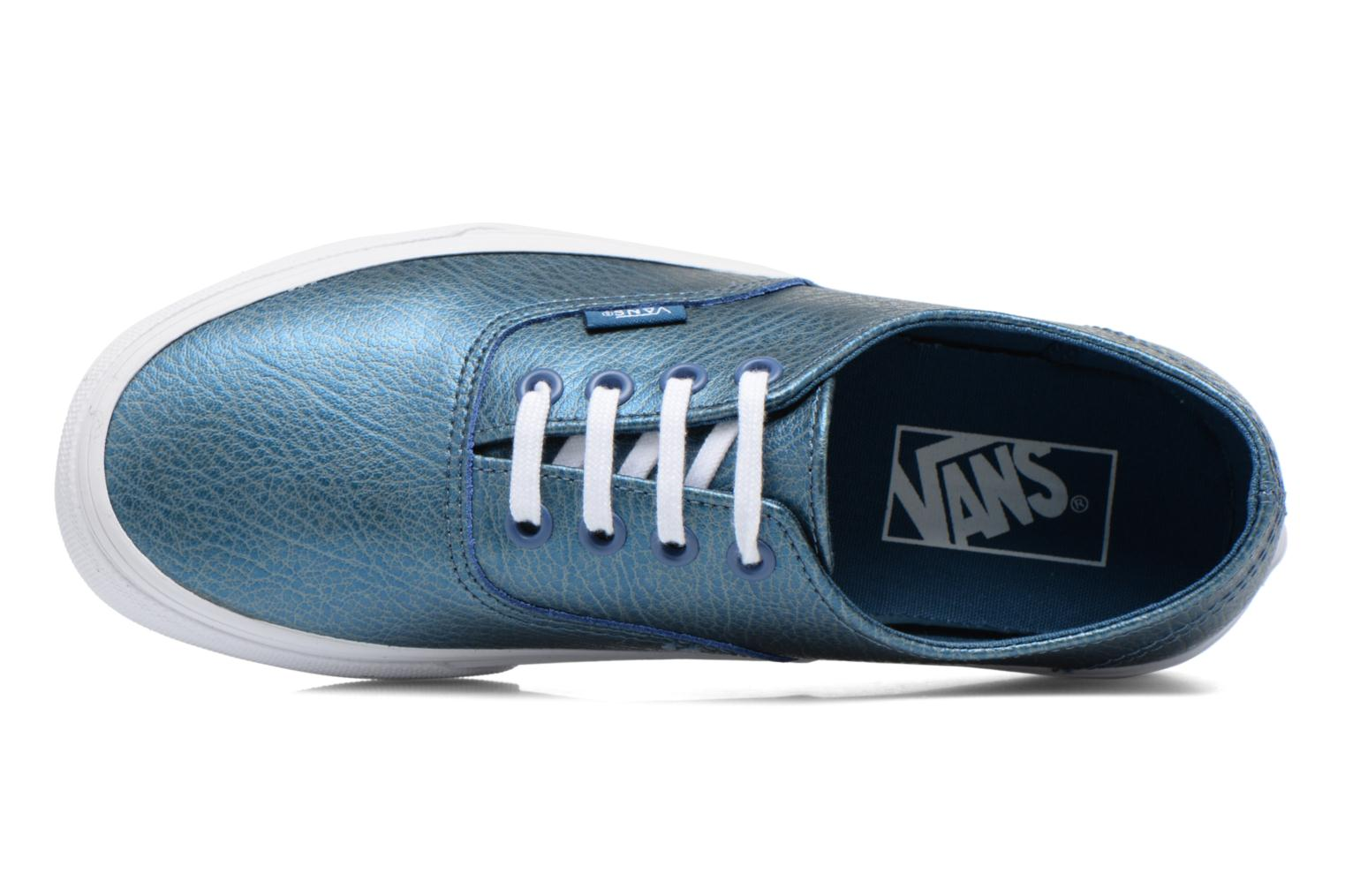 Baskets Vans Authentic Decon W Bleu vue gauche