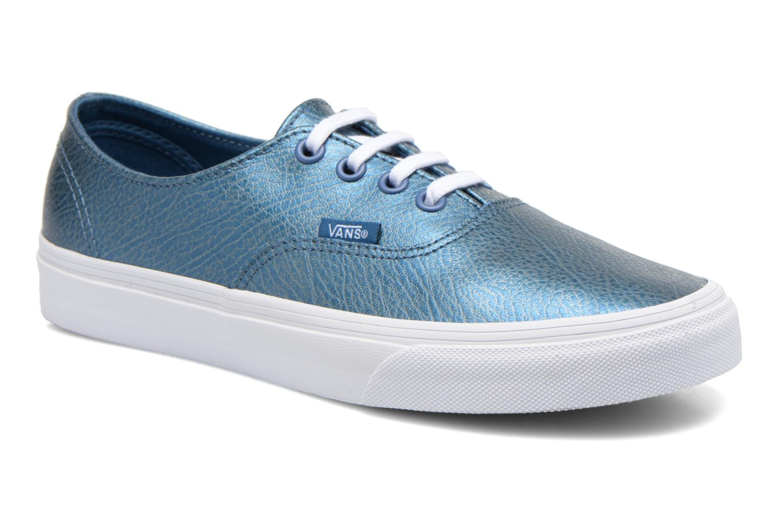 Baskets Vans Authentic Decon W Bleu vue détail/paire