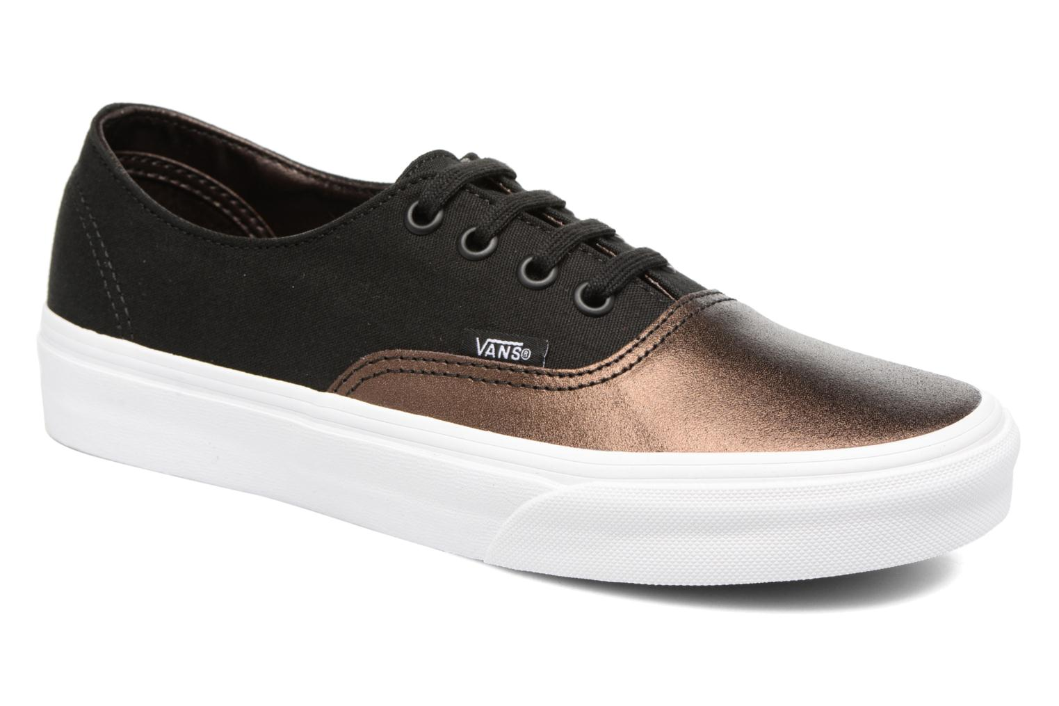 Sneakers Vans Authentic Decon W Zwart detail