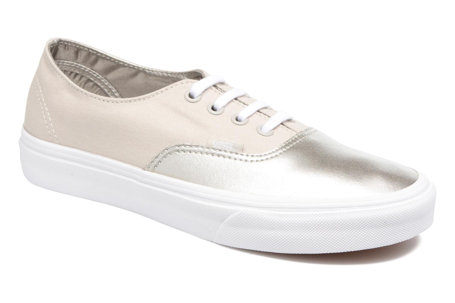 Baskets Vans Authentic Decon W Argent vue détail/paire