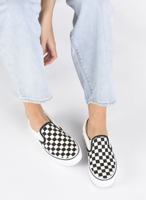 Sneakers Vans Classic Slip-On Platform Zwart onder