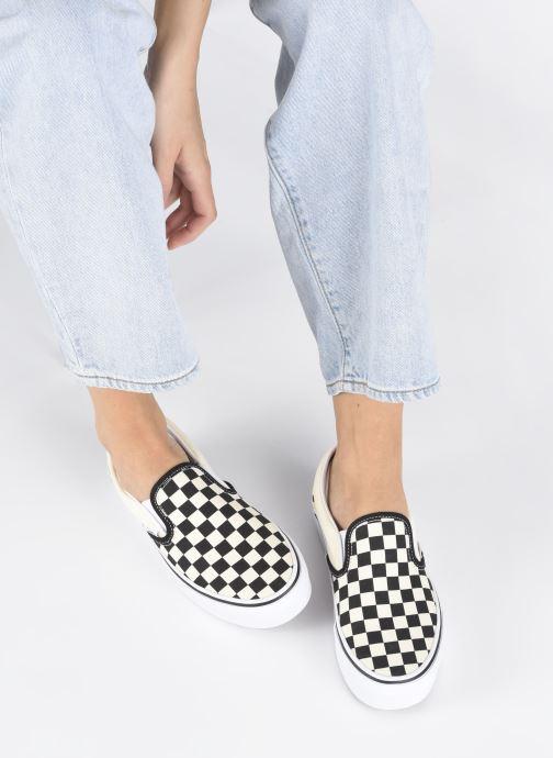 Baskets Vans Classic Slip-On Platform Noir vue bas / vue portée sac