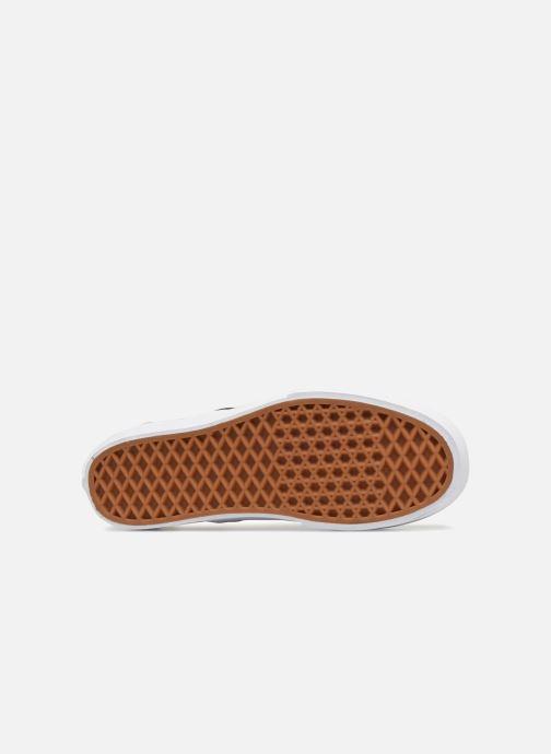 Baskets Vans Classic Slip-On Platform Noir vue haut