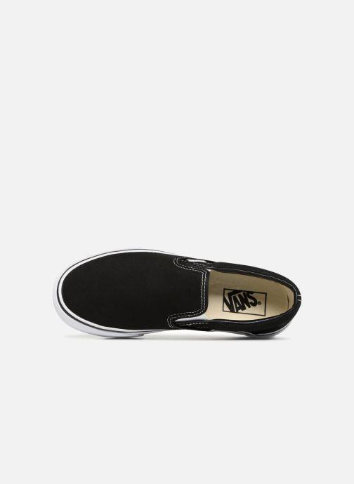 Sneakers Vans Classic Slip-On Platform Nero immagine sinistra