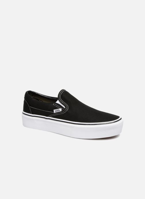 Trainers Vans Classic Slip-On Platform Black detailed view/ Pair view