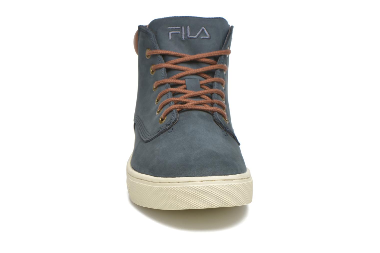 Baskets FILA Roswell N Mid Bleu vue portées chaussures