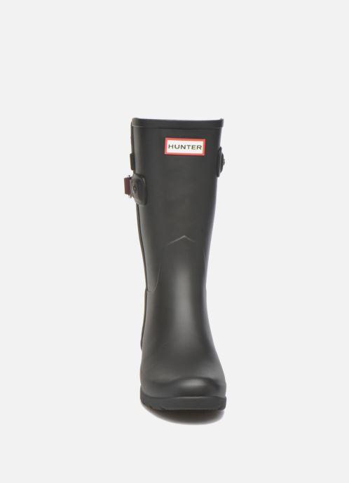 Stiefeletten & Boots Hunter Original refined Back Strap Short schwarz schuhe getragen