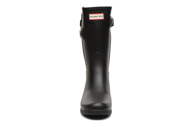 Boots en enkellaarsjes Hunter Original refined Back Strap Short Zwart model