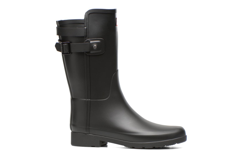 Boots en enkellaarsjes Hunter Original refined Back Strap Short Zwart achterkant