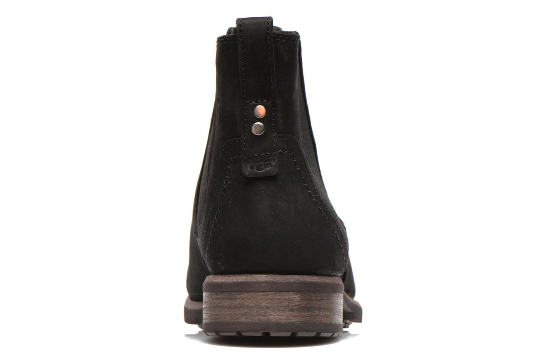 Bottines et boots UGG Gallion Noir vue droite