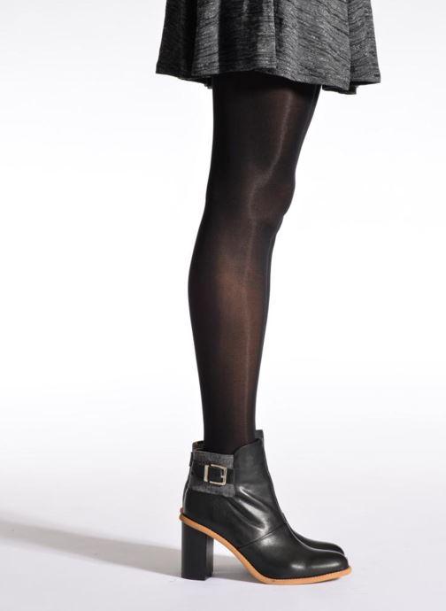 Chaussettes et collants Sarenza Wear Collant soft touch Noir vue portées chaussures