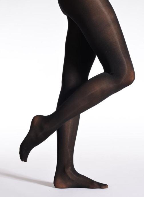 Chaussettes et collants Sarenza Wear Collant soft touch Noir vue détail/paire