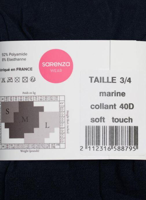 Calze e collant Sarenza Wear Collant soft touch Azzurro immagine frontale