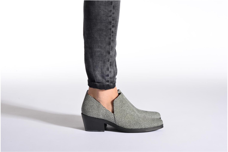 Bottines et boots Intentionally blank Meds Gris vue bas / vue portée sac